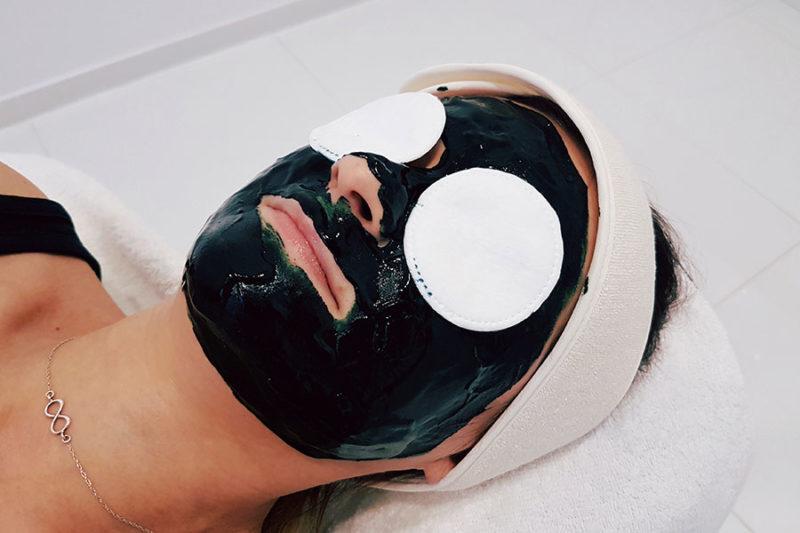 Maska algowa ze Spiruliny i miodu