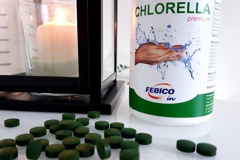 Chlorella w tabletkach na oczyszczanie organizmu