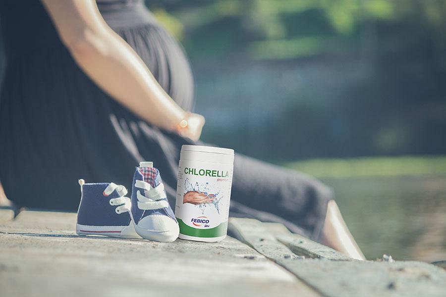 Chlorella w ciąży